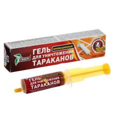 Гель для уничтожения тараканов шприц 30гр/Крипс