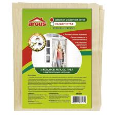 Сетка москитная дверная 210*100см на магнитах/ARGUS GARDEN