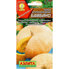 Тыква БАМБИНО крупноплодная ц/аэлита