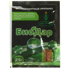Биопрепарат БиоДар для туалетов и стоков 25гр/Доктор Грин