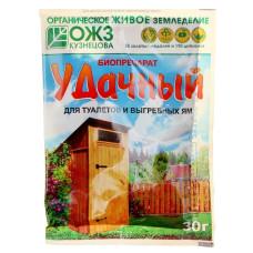 Биопрепарат для туалетов и выгребных ям Удачный 30гр/ОЖЗ