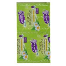 Пластины для фумигатора от комаров Без запаха Family 10шт/Домовой Прошка